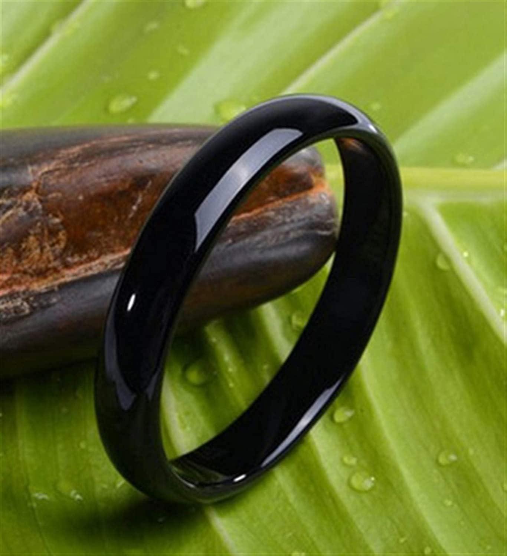 Roseheart Classic Natural Jade Bangle Black Onyx Link Bracelet,Crystal Natural Stone for Men Women