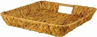 Cesta Rectangular de Mimbre con Forro extra/íble 25x15x10cm Fablcrew S