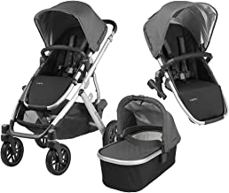 UPPAbaby Full-Size Vista Infant Baby Stroller & RumbleSeat Bundle, Jordan