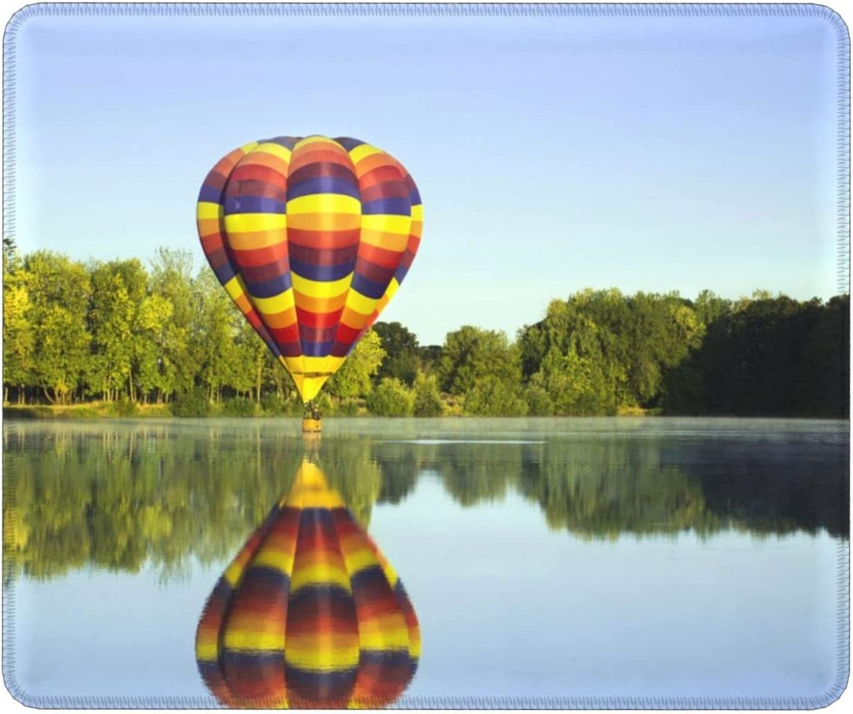 Hot Air Large-scale sale Balloon Natural Rubber Excellent Rectangle Pads Mouse Ho Non-Slip