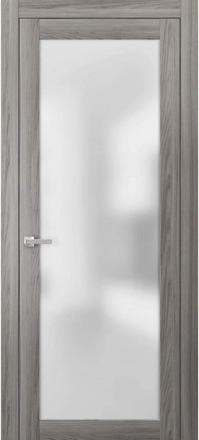 Lite Frosted Glass Door 24 x Frame Ash Ginger 84 Houston Mall Planum 2102 Free Shipping New