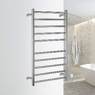 HL Toallero eléctrico, termostático Calentador eléctrico toallero radiador baño, baño Secado Rack Acero Inoxidable baño Toalla Rack 950X500X125