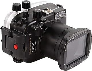 Sea Frogs Canon EOS M3 18-55mm レンズ 40M 防水 水中カメラハウジング ハードケース