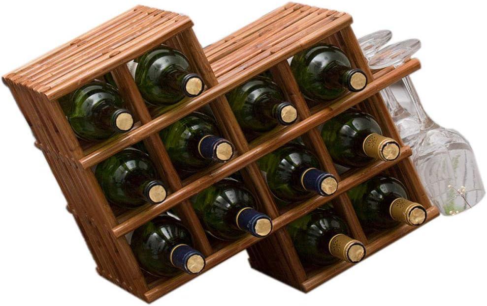 BINGFANG-W Wine Rack Outlet SALE Bottle Holder Purchase She Wood Solid Home