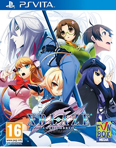 XBlaze Code : Embryo (Playstation Vita) (輸入版)