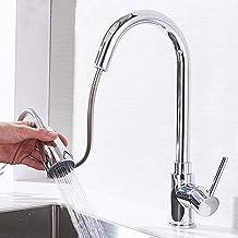 """【𝐏𝐚𝐬𝐞𝐧】 Keukenwaterkraan, UK-standaard G1/2""""Trek verchromen aanrecht Aanrecht Koudwaterkraan"""