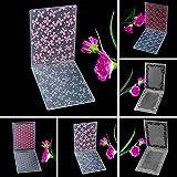Zhuotop Kunststoff-Prägeschablone für DIY-Papierpräger, Dekorationen aus Papier 03 -