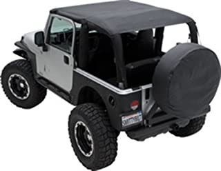 Smittybilt 93635 Extended Top Black Diamond for 1997 to 2006 TJ Wrangler and Rubicon