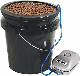 HTGSupply 5-Gallon Bubble Boy Single Shot XL Deep Water Culture (DWC) Hydroponic Bucket System