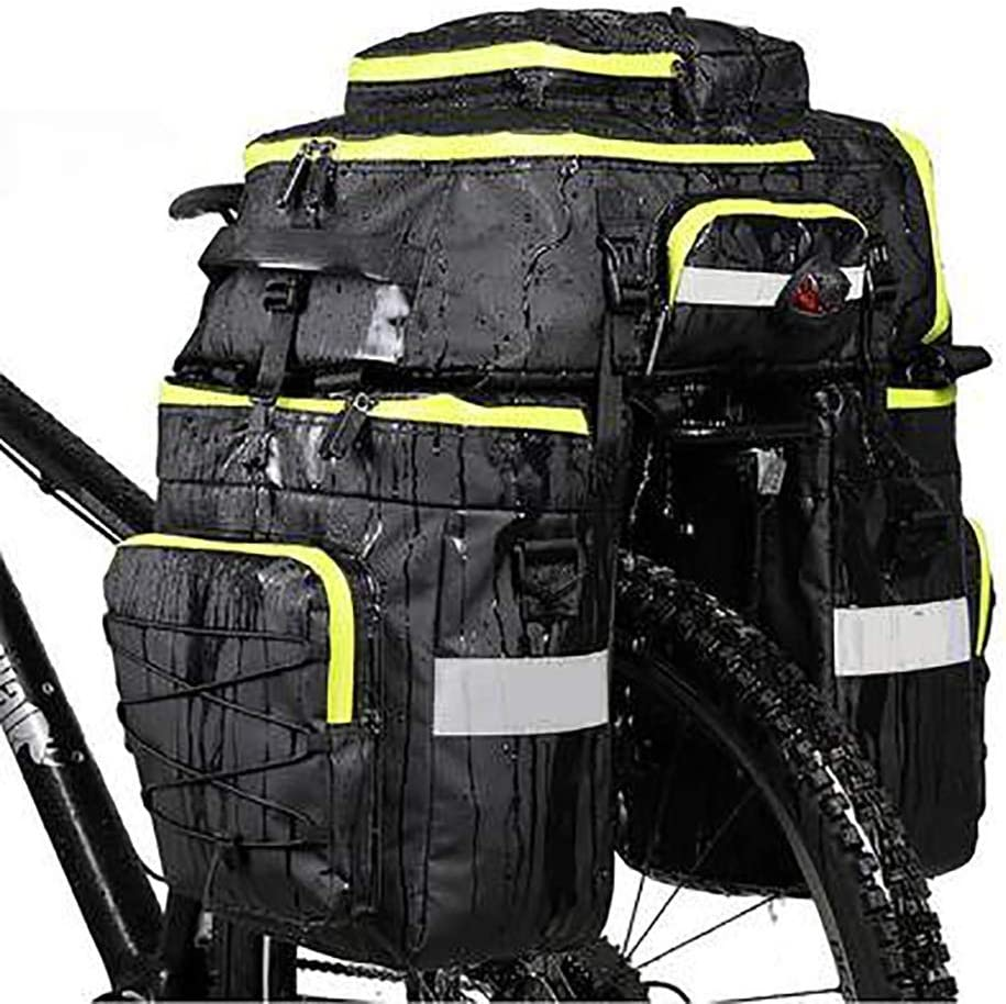 Bike Panniers Ranking integrated 1st place Free shipping New Rack Trunks Bicycle rear luggage lar 75L seat bag
