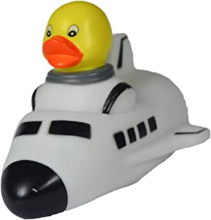 waddlers Rubber Duck Space Venture Shuttle, Brand Toy Bathtub Rubber Ducks That Floats Upright, Birthday Baby Shower, All Depts.space Venture Future Dreaming Favor Gift