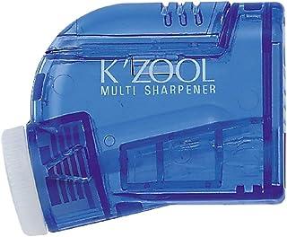 Kutsuwa STAD Angle Adjustable Pencil Sharpener K'ZOOL, Transparent Blue (RS007BL)