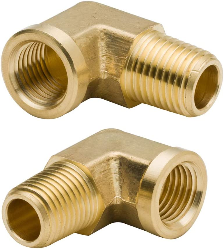 Legines A surprise price is realized 1 8 Inch Brass Street 90 Male NPT Degree x online shopping 8