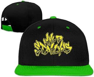 WYLD Stallyns Baseball Snapback Hats Adjustable Sport Hip Pop Cap White