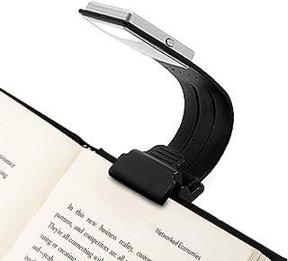 EmNarsissus Mini Flexible Clip-On Helle Buch Licht Laptop Wei/ß LED Buch Leselampe Lampe Kompakte tragbare Studentenwohnheim Lichter