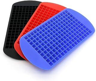 2 Unids Ice Box 160 Práctico Molde de Hielo Mini Bandeja de Cubitos de Hielo Cubitos Congelados Bandejas de Silicona Molde de Hielo Herramienta de Cocina