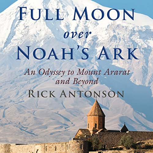 Full Moon over Noah's Ark audiobook cover art