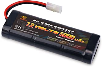 melasta 7.2 Volt 5000mAh Flat Ni-MH High Power Battery Packs with Tamiya Discharge..