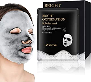 Bubble, Sky-shop Deep Purifying Black O2 Bubble Clean Charcoal Facial Clean with Detoxifying and Moisturizing Action