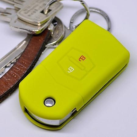 Soft Case Schutz Hülle Auto Schlüssel Für Mazda Cx 7 Elektronik