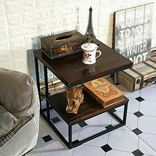 CSQ Table Basse, Restaurant Bar Chambre Salon Hôtel Table Petite Table Ronde Table De Dessert Table Desserte Table D'appoint Taille 45 * 45 * 50CM table basse (Couleur : C)
