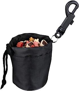 Mini Snack Bag Food Treat Storage Holder Training Pet Dog Cat Bird Puppy Black