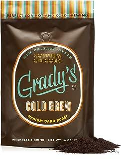 NEW Grady's Cold Brew Coffee (Coarse Ground Coffee, 16 oz)