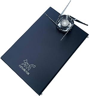 FUTURE FOX イワタニ ジュニアコンパクトバーナー CB-JCB 専用 ステンレス 遮熱板 テーブル 【南信州発アウトドアブランド】
