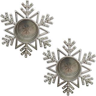 Amazon Com Tea Light Candle Holders Icicles Snowflakes Tea Light Holders Candlehold Home Kitchen