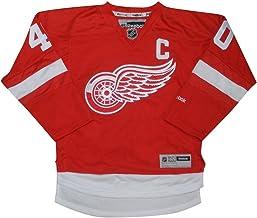 NHL Detroit Rojo alas zetterbers # 40: Jersey de Hockey para Chicos/Jersey