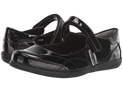 Nina Kids Alannah (Toddler/Little Kid/Big Kid) (Black Patent) Girls Shoes