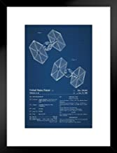 Poster Foundry Spaceship Toy Official Patent Blueprint Official Patent Blueprint 20x26 inches Black 238724