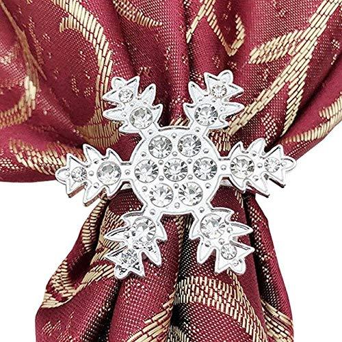 ADSIKOOJF sneeuwvlok servet ring servet gesp strass servet cirkel doek handdoek gesp bruiloft hotel tafel diner DIY decoratie