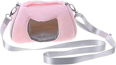 Cdet 1x Bolsas de Transporte para Mascotas Hamster Mochila Bolsa con Malla Bolso para Transpirable port/átil de Salida de Viajes Bolsos Mochila con Correa de Hombro