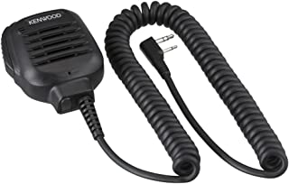 Kenwood KMC-45D Heavy Duty Speaker/Microphone, MIL-STD 810, Upgraded D Version Suitable for DMR/NEXEDGE/Analogue Portables with 2-Pin Connectors and ProTalk Series Radios, 2.5mm Socket for Earpiece