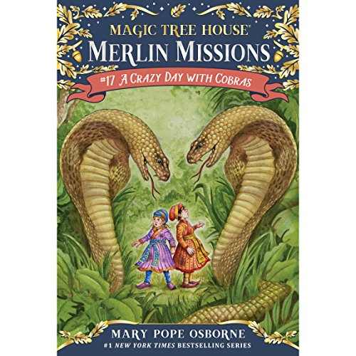 A Crazy Day with Cobras                   By:                                                                                                                                 Mary Pope Osborne                               Narrated by:                                                                                                                                 Mary Pope Osborne                      Length: 1 hr and 30 mins     67 ratings     Overall 4.5
