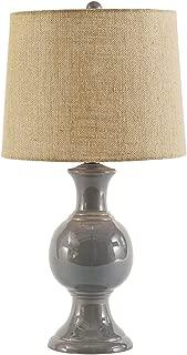 Signature Design by Ashley L100644 Magdalia Table Lamp, Gray