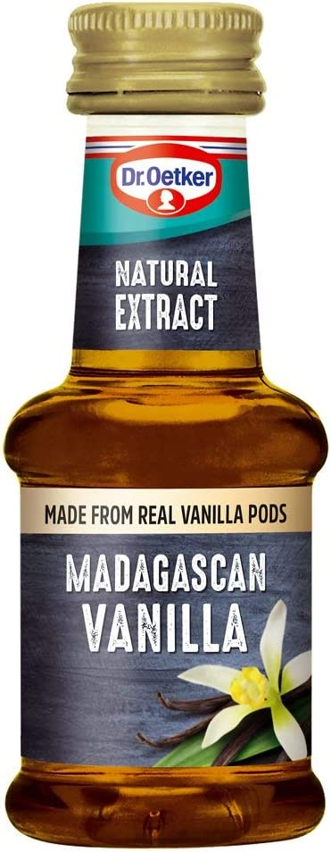 Dr Oetker Natural Extract Madagascan Vanilla, 35 ml : Amazon.co.uk: Grocery