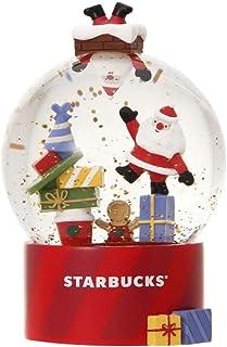 スターバックス ホリデー 2019 Starbucks スノードーム 雪 降り注ぐ スノーグローブ クリスマスプレゼント サンタハウス サンタクロース ジンジャーマン レッドカップ スタバ 限定 クリスマス かわいい デザイン グッズ 赤