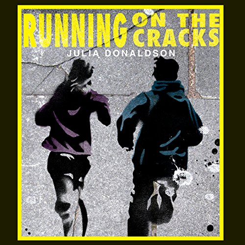Running on the Cracks audiobook cover art