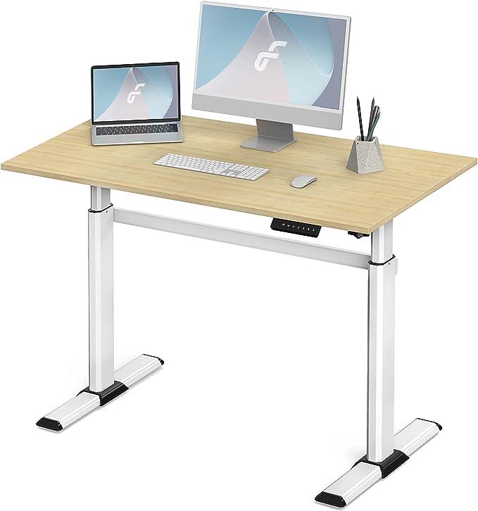 98 opiniones para Fenge Escritorio eléctrico regulable en altura con tablero de 110 x 60 cm, mesa