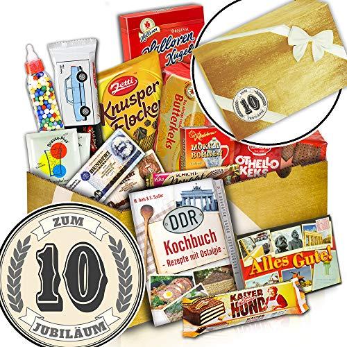 Süßigkeiten Box + Geschenk 10 Hochzeitstag + Zum 10. Jubiläum