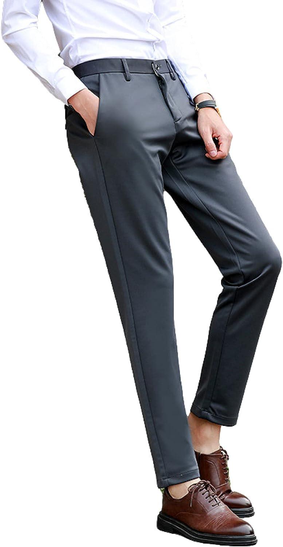 Men's Casual Pants Fashionable Urban Business Positive Fit Trous