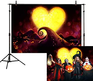Allenjoy 7x5ft Nightmare Before Christmas Theme Backdrop Halloween Pumpkin Jack Photography Background Children Birthday Baby Shower Party Decoration Cake Table Banner Photo Studio Booth Prop