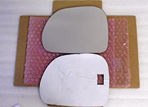 New Replacement Mirror Glass with FULL SIZE ADHESIVE for Fiat 500L Driver Side View Left LH