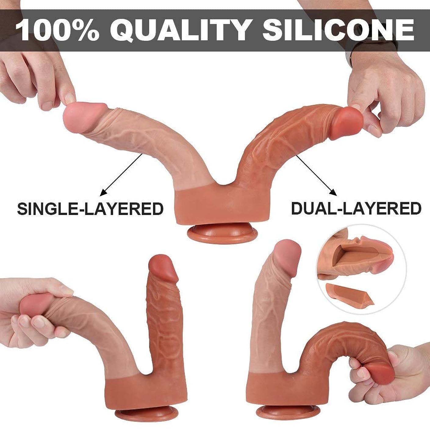 便利ホイップ公Y-angcco6 ソフトで柔軟なダブルヘッドマッサージSEおもちゃ女性カップル - 100%秘密のパッキング