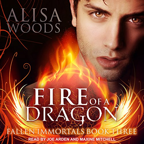 Fire of a Dragon audiobook cover art