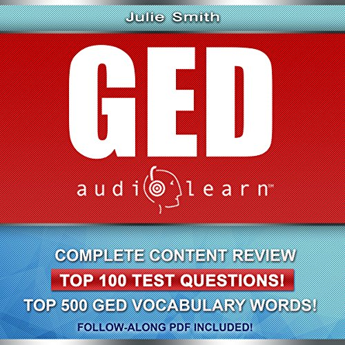 GED AudioLearn - Complete Audio Review for the GED (General Equivalency Diploma) Titelbild