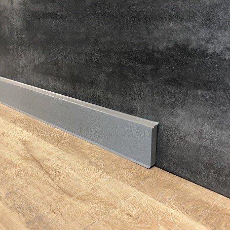 15 Meter Fußleiste/Sockelleisten 60 x 12 mm