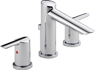 Delta Faucet 3561-MPU-DST Compel Widespread Bath Faucet with Metal Pop-Up, Chrome